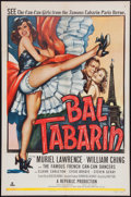 "Movie Posters:Musical, Bal Tabarin (Republic, 1952). One Sheet (27"" X 41""). Musical.. ..."