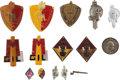 Militaria:Insignia, Group of Fifteen Italian Fascist GIL Insignia and Badges....(Total: 15 Items)