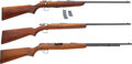 Long Guns:Bolt Action, Lot of Three Assorted .22 Caliber Rifles.... (Total: 3 Items)