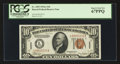 Small Size:World War II Emergency Notes, Fr. 2303 $10 1934A Hawaii Federal Reserve Note. PCGS Superb Gem New 67PPQ.. ...