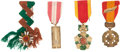 Militaria:Insignia, Group of Four Republic of Vietnam Theater-made Orders and Decorations,... (Total: 4 Items)