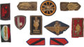 Militaria:Insignia, Large Group of Twenty-nine Embroidered and Cloth Italian Fascist Insignia.... (Total: 39 )