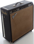 Musical Instruments:Amplifiers, PA, & Effects, 1966 Fender Super Reverb Black Guitar Amplifier, Serial #A20292....