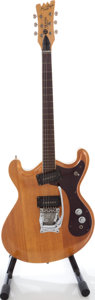 Musical Instruments:Electric Guitars, 1966 Joe Maphis Mosrite Model 1 Natural Solid Body Electric Guitar, Serial # D322.. ...