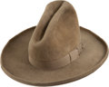 Antiques:Textiles, Fine Nutria Stetson-Style Wide-Brimmed Man's Hat. ...