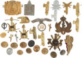 Militaria:Insignia, Large Group of Thirty Italian Fascist Insignia and Buttons....(Total: 33 )