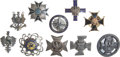 Militaria:Insignia, Ten Polish Army Badges, ... (Total: 10 Items)