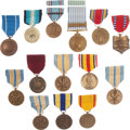 Militaria:Insignia, Group of Fourteen United States Military Medals,... (Total: 14 Items)
