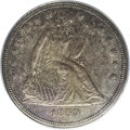Seated Dollars: , 1859 $1 MS63 PCGS. The Bowers Silver Dollars and Trade Dollars of the United States, A Comp...