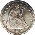 1872-CC $1--Repaired, Cleaned--ANACS. XF45 Details. All Carson City Seated dollars are appealing because of their low mi...