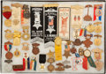 Militaria:Insignia, Large Group of 41 Grand Army of the Republic Encampment and Memorial Medals, Ribbons, Badges, ...
