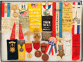 Militaria:Insignia, Group of 20 Grand Army of the Republic and Associated Organizations Encampment and Reunion Medals, Ribbons, Badges,...