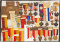 Militaria:Insignia, Large Group of 32 Outstanding United Spanish War Veterans Badges,Medals, and Insignia,...