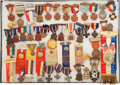 Militaria:Insignia, Large Group of 47 Sons and Daughters of Union Veterans Encampment and Positional Medals and Badges,...