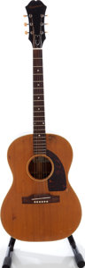 Musical Instruments:Acoustic Guitars, 1963 Epiphone FT-45N Cortez Natural Acoustic Guitar, Serial # 112165....