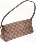 Luxury Accessories:Bags, Louis Vuitton Damier Canvas Recoleta Pochette Bag. ...