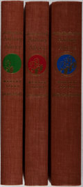 Books:Fine Press & Book Arts, [Limited Editions Club]. Hervey Allen. SIGNED/LIMITED. AnthonyAdverse. Vol. I-III. Limited Editions Club, 1937.... (Total: 3Items)