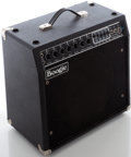 Musical Instruments:Amplifiers, PA, & Effects, Early 1980s Mesa Boogie Mk III Black Guitar Amplifier....
