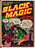 Golden Age (1938-1955):Horror, Black Magic #1-6 Bound Volume (Prize, 1950-51)....