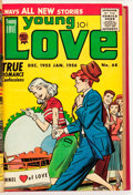 Silver Age (1956-1969):Romance, Young Love Bound Volume (Prize, 1955-61)....