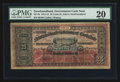 Canadian Currency: , St. John's, NF- Newfoundland Government Cash Note 25¢ 1911-12 Ch # NF-7b. ...