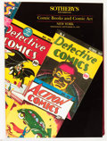 Memorabilia:Comic-Related, Sotheby's Comic/Comic Art Catalogs Bound Volume Group (Sotheby's,1991-2000).... (Total: 3 Items)