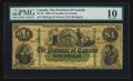 Canadian Currency: , PC-2b $1 1866. ...