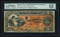 Canadian Currency: , Toronto, ON- The Canadian Bank of Commerce $5 May 1, 1912 Ch #75-14-12. ...