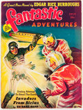 Pulps:Science Fiction, Fantastic Adventures - July '39 (Ziff-Davis, 1939) Condition:FN-....