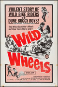 "Movie Posters:Exploitation, Wild Wheels & Other Lot (Fanfare, 1969). One Sheets (2) (27"" X 41""). Exploitation.. ... (Total: 2 Items)"