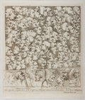 Books:Prints & Leaves, William Hogarth. Printed Engraving Entitled Characters.Caricaturas. Hogarth, 1743. Image size approximately 9 x 8 i...