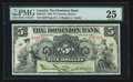 Canadian Currency: , Toronto, ON- The Dominion Bank $5 Jan. 2, 1925 Ch # 220-16-14. ...