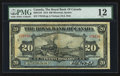 Canadian Currency: , Montreal, PQ- The Royal Bank of Canada $20 Jan. 2, 1913 Ch #630-12-10. ...