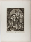 Books:Prints & Leaves, William Hogarth. The Bruiser, C. Churchill. Hogarth, August1, 1763. Steel engraving. Image size approximately 1...