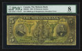 Canadian Currency: , Montreal, PQ- The Molsons Bank $5 Oct. 2, 1905 Ch # 490-28-02. ...