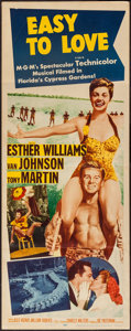 """Movie Posters:Musical, Easy to Love (MGM, 1953). Insert (14"""" X 36""""). Musical.. ..."""
