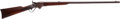 Long Guns:Lever Action, Rare Agent-Marked Sporterized Spencer Lever Action SportingRifle....