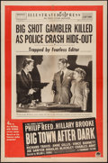"""Movie Posters:Crime, Big Town After Dark (Paramount, 1947). One Sheet (27"""" X 41""""). Crime.. ..."""