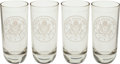 Military & Patriotic:WWII, Set of 4 Glasses Given To General George Patton... (Total: 4 )