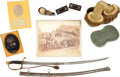 Military & Patriotic:Civil War, Important Grouping of Material from Famed Artist and Gettysburg Historian John B. Bachelder.... (Total: 17 )