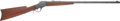 Long Guns:Single Shot, Winchester Model 1885 High Wall Single Shot Rifle With WinchesterFactory Letter.... (Total: 2 Items)