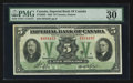 Canadian Currency: , Toronto, ON- The Imperial Bank of Canada $5 Nov. 1, 1933 Ch #375-20-02. ...