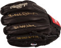 Baseball Collectibles:Others, Brooks Robinson Signed Glove....