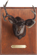 Long Guns:Bolt Action, Limited Edition Mule Deer Bronze by Lee Lester....