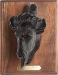 Long Guns, Limited Edition American Bison Bronze by Lee Lester....