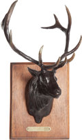 Long Guns:Bolt Action, Limited Edition Bull Elk Bronze by Lee Lester....