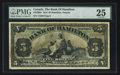 Canadian Currency: , Hamilton, ON- The Bank of Hamilton $5 June 1, 1914 Ch # 345-20-04. ...