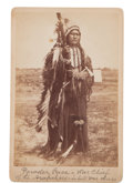 Photography:Cabinet Photos, Photo: Powder Face, Arapahoe War Chief, ...