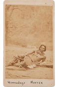 Photography:CDVs, Carte de Visite Photo: Winnebago Hunter...