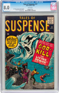 Silver Age (1956-1969):Horror, Tales of Suspense #12 (Marvel, 1960) CGC VF 8.0 White pages....